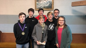Jr. High Quiz Bowl Champions