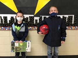 Students Earn Playground Items For Class