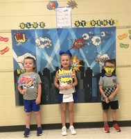 First K-2 BLUE Students Recognized for the Year