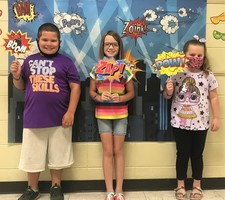 First 3rd-6th BLUE Students Recognized for the Year
